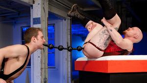 Sebastian Keys and Brock Rustin in a 69 fist fuck spectacle