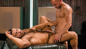 Vin shoves his nasty rod deep into Charlie's furry butt