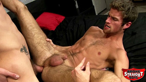 Everyone likes when Blake is pounded, but how about drilled raw by Duncan who has a giant meat for his tight ass?
