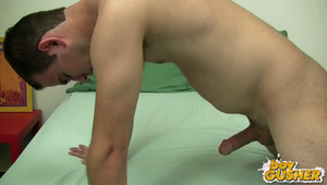 In this update we have with us James Cobler. James is not unfamiliar to the porn scene he has done some other work for us before on another site. He is straight and has only done oral before. He wants to do the gay for pay scene and see how far he can and