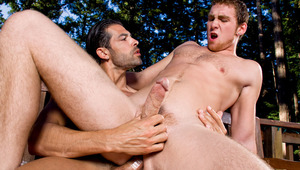 DO. rides Connor from booty and both guys reel with desire.