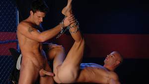 Watch Trystan make Patrick pay by having him suck his ass.