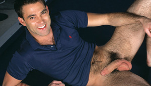Danny Vox enjoys being interviewed for his latest hot scene!