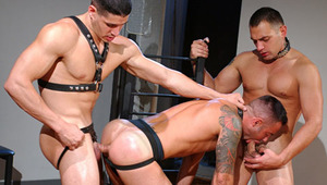 Slaves giving sexual attention to their hot & horny masters