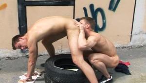 2 Nice Looking guys Enjoyed A Nice Time Having Sex