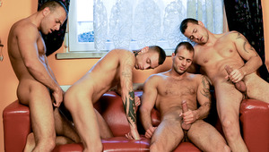 Jimmy, Jason and Joey Visconti add a 4th member to their fun