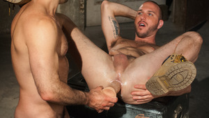 Rex Roddick gets his puckered butthole worked with some toys