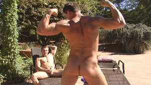 From a classic 69, the two lean back and unloads there balls