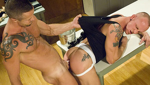 Banks Administers A Deluxe Anal Beads, All Into Garet's Hole