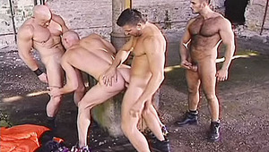 A reluctant lover becomes the centre of a vicious gangbang!