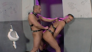 attractive masked guys fucking and then a lovely dude watching it