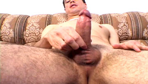 Athletic and fine latino masturbating in front of the camera