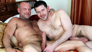 Boyfriends Chad Brock and Clay Towers fuck deep and intense in this video