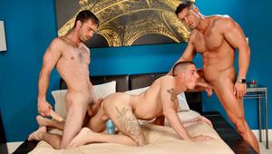Watch Ty and Joe share Cody's huge, throbbing schlong!