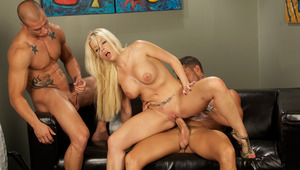 All wild desires fulfilled in this amazing threesome. ENJOY