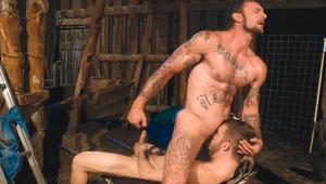 Taskmaster Rick tells BF Jackson to lick cock & enjoy it