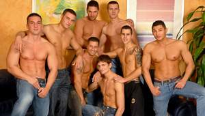 Hot guys celebrating a 18 year old's birthday by FUCKING !