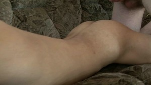 Lusty gay bf is jerking his lusty rod while looking at twinks pretty bottoms.