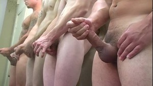 sweet Latin guy enjoys Jerking Off With His White Friend