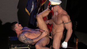 Adam Killiam and Spencer Reed are navy officers gone dirty