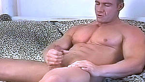 A hot man cleans his asshole alone in his backyard & cums