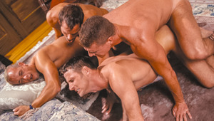 Nate, Michael, Tom & Sky have an orgy of epic proportions