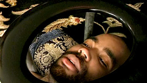 Watch This black stud Licking A ebony behind Under A Toilet Bowl