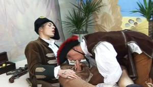 fine pirate males enjoying some hot raw anal fucking