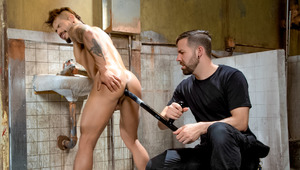 Draven's strip-searched & probed to satisfy Preston's lust