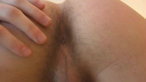 sleazy fellow has fun with his hairy wiener and reaches multiple orgasms