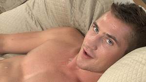 A pleasant interview with Dayton and his massive dick. Enjoy!