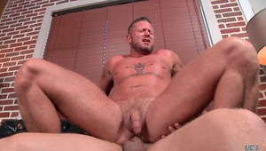 Top only porn star Charlie Harding is finally getting fucked in the ass on camera! Hunky Colby Jansen puts his dick deep inside Charlie's tight ass in a classic new scene from MEN.COM's TopToBottom.com!