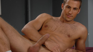 Alexi is teasing you with his ripped body, and stiff schlong!