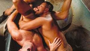 This is one hot three-way which must be seen to be believed!