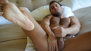Cody is going to stroke his big, fat cock until he cums!