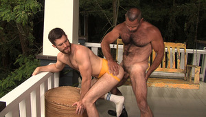 attractive & bearded Trent Lock gets banged by hairy guy Tim Kelly