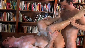 Threesome frat boys are shaving & cleaning for good hot sex