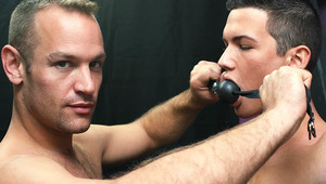 Austin Tyler was in the mood to be bond and properly punished, so he hired daddy Tucker McKline.
