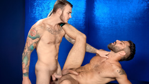 Adam stokes the fire in Christian's loins with his hot hole