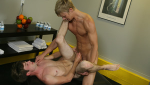 Alex discovers the joys of bj with his new buddy Kurt.