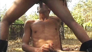 cute dudes Fuck Each Other Outdoors