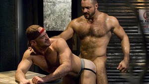 Reynolds teases the foreskin and gives Miklos excellent head