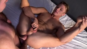 Horny prisoners are stuck together and decide to booty fuck!