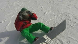 pretty cool teenie gay loving his new snowboard and jerking off