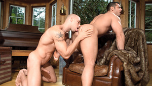 """Angelo's large 9""""er demands to be engulfed by Marcus' hole"""
