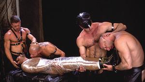 Watch ravishing Bryce Pierce in hot S&M and leather scene