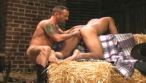 smooth dude gets his hungry tight anus fisted by hunk