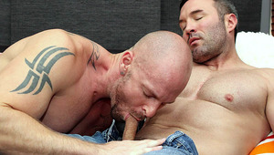 Playing golf is just a cover-up for married dudes Mitch Vaughn & Brock Landon!