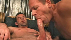 Hot studs enjoying some hot bj and anal action in here