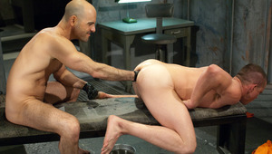 Adam Russo sticks his fist up Jackson Lawless' eager anus